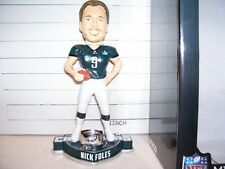 2018 NICK FOLES PHILA. EAGLES SUPER BOWL 52 CHAMPIONS RING ROOKIE BOBBLEHEAD