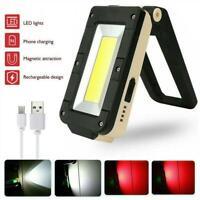 Lampe de travail magnétique LED rechargeable Lampe d'accès de voiture de
