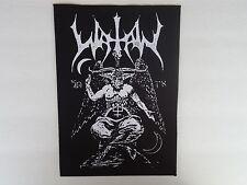 WATAIN BLACK METAL BACK PATCH
