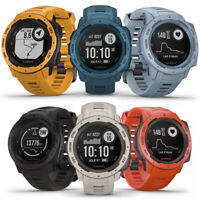 Garmin Instinct Rugged Outdoor GPS Watch | CHOOSE YOUR COLOR | BRAND NEW