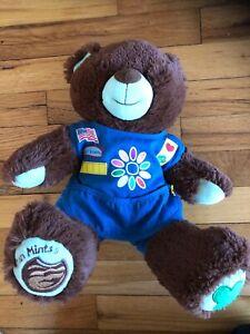 Build A Bear Girl Scout Daisy Thin Mints Plush Teddy Bear