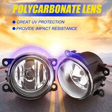 Pair Front Bumper Fog Light Lamps w/ H11 Bulbs For Suzuki SX4 Grand Vitara Swift