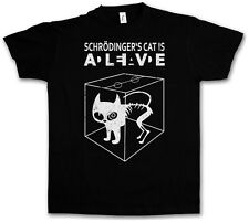 SCHRÖDINGER´S CAT IS ALIVE DEAD II T-SHIRT - The Big Schroedinger TV Bang Theory