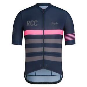 Rapha Men's RCC Pro Team Jersey Medium Navy Blue