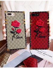 Fundas 3D Rosa Bordado Lujo ENVIO RAPIDO Iphone X, 6/6S, 6+/6S+ ,7/7+ ,8 /8+