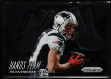 "JULIAN EDELMAN PATRIOTS ""THE SUPER BOWL CATCH"" DIE CUT HANDS TEAM SP 2014 PRIZM"