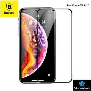 iPhone XR Screen Protector True Full Cover Tempered Glass-*Transparent*-*Baseus*