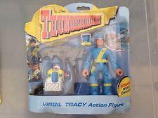 Thunderbirds virgil tracy avec canon à eau action figure moc gerry anderson