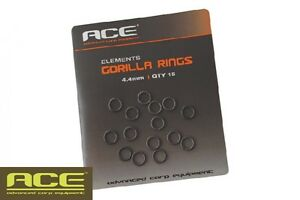 ACE Elements - Gorilla Rings 4.4mm or Hook Ring Stops small