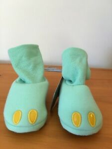 NEW Disney Store The Child Baby Costume Shoes green Mandalorian