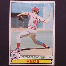 TOM SEAVER  1979 Topps #100  Cincinnati Reds  Pitcher  single