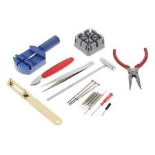 16 Pieces Watch Repair Tools Kit Back Case Opener Watchband Link Pin Remover