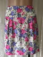 SUGAR BABE SIZE 12 FLORAL COTTON SKIRT