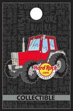 Hard Rock Cafe INDIANAPOLIS 2017 Red TRACTOR for FFA Convention PIN #99799