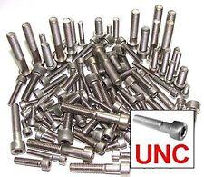 Stainless UNC Allen Bolts, 1/4,5/16,3/8 Socket Capscrews -  Harley Davidson