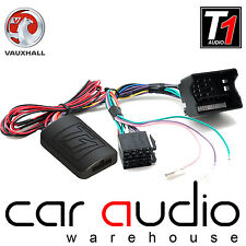 Vauxhall Corsa D 2009 - 2014 On XTRONS Car Stereo Steering Wheel Interface Stalk