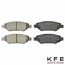 Premium Ceramic Disc Brake Pad REAR New Set Shims Fits CTS SRX Camaro KFE1337