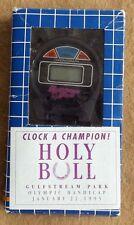 1995 HOLY BULL STOPWATCH FROM GULFSTREAM PARK FINAL WIN - HORSE RACING SOUVENIR