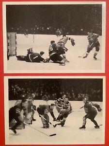 TEAM CANADA 1952 OSLO OLYMPICS SUPER RARE GERMAN HOCKEY DORAMIN MANDELLA #68
