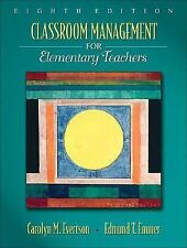 Classroom Management for Elementary Teachers by Carolyn M. Evertson and...
