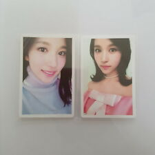 TWICECOASTER : LANE 2 Album Knock Knock MINA  Twice Photocard Pink Yellow Set