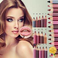 12 Colours Pro Waterproof Professional Lipliner Makeup Lip Liner Pen Pencil Set