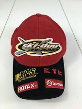 7411ae9b02ef5 Ski-Doo Team Race Snowmobile Bombardier Hat Rotax Xps Fitted Small Vintage