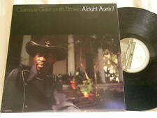 CLARENCE GATEMOUTH BROWN Alright Again SIGNED autographed Rounder LP