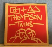 "THOMPSON TWINS Squares And Triangles 1980 UK 7"" Vinyl Single EXCELLENT CONDITION"
