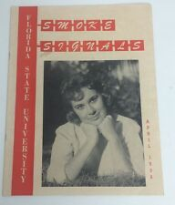 Vintage FSU Seminoles Student Magazine Smoke Signal 1958