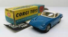 CORGI TOYS # 319 LOTUS ELAN COUPE - Blue/White - MB