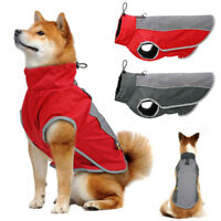 Dog Coat Waterproof for Small Medium Dogs Reflective Jackets Winter Pet Clothes