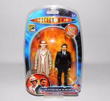 """Doctor Who planeta de fuego 5"""" Figura Set 5th médico el maestro Sdcc Exclusivo"""