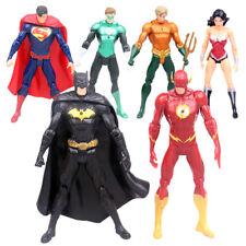 Set 6 Justice League Superman Batman Flash Aquaman DC Universe action Figures #1