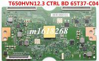 "T-con board T650HVN12.3 CTRL BD 65T37-C04 5565T30C02 65"" TV For Sony KDL-65W850C"