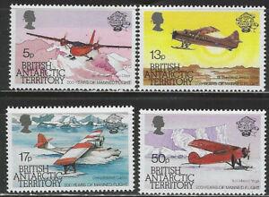 British Antarctic Territory Scott 117-20 MNH LotBDP14571