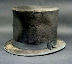 ANTICO CAPPELLO A CILINDRO - PRIMI '900 - VINTAGE Silk Top Hat -