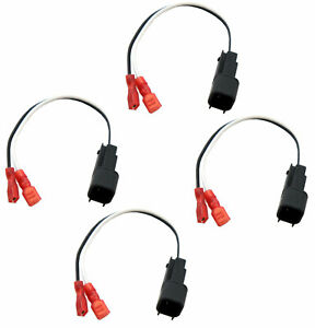 Fits Chevy Silverado 14-19 Factory Speaker to Aftermarket Replacement Harness