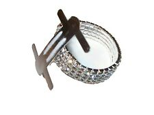 Silver Rhinestone Stretch Band Corsage Wristlet Formal Prom Favors