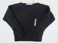 NEW Uniqlo  Lemaire Women Cashmere Blended Wool Square Sweater Navy Size XS