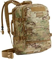 Camelbak Skirmish 62480 100oz 33L Antidote MultiCam Camo Hydration Pack +3L Res