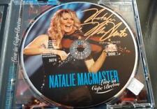 Natalie MacMaster Live in Cape Breton fiddle music Signed CD © 2007 w/COA