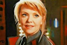 ACEO Original ~ Sam Carter ~ Stargate 1