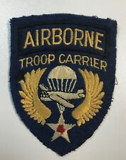 VIntage WWII AIrborne Troop Carrier Patch
