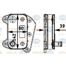 HELLA Ölkühler Motoröl