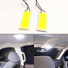 2X Xenon HID White 36 COB LED Dome Map Light Bulb Car Interior Panel Lamp DC 12V
