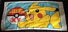 Oficial Pokemon HITACHI Nintendo Blue Playa Toalla De Baño Pikachu Nuevo Japón 50x24