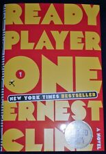 READY PLAYER ONE AUTOGRAPHED by Ernest Cline (SIGNED 1ST Printing Hardcover) NEW