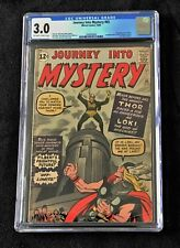 JOURNEY INTO MYSTERY #85 CGC 3.O; 1st appearance of LOKI, 3rd app of THOR