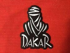 PARIS DAKAR RALLY RAID RACE TRUCKS MOTORCYCLE BIKE CAR BADGE IRON SEW ON PATCH 1